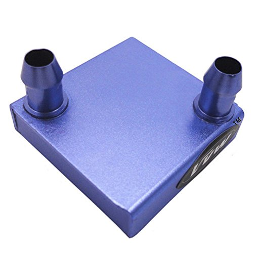 Yobett DIY Aluminum Water Cooling Block for CPU Graphics Radiator Heatsink 42x 42x 9 Mm VvW