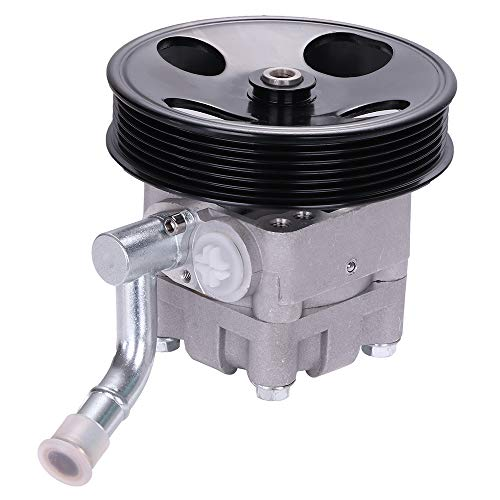 (SCITOO Power Steering Pump Compatible For Infiniti FX35 Base Sport Utility 4-Door 3.5L 21-5412 Power Assist)