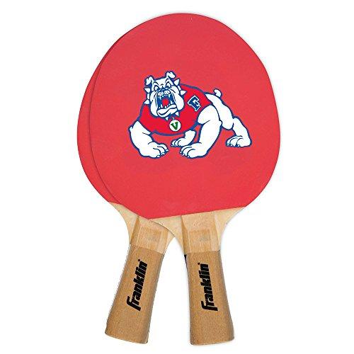 Tennis Merchandise (Franklin Sports NCAA Fresno State Bulldogs Collegiate Table Tennis Paddle Set)