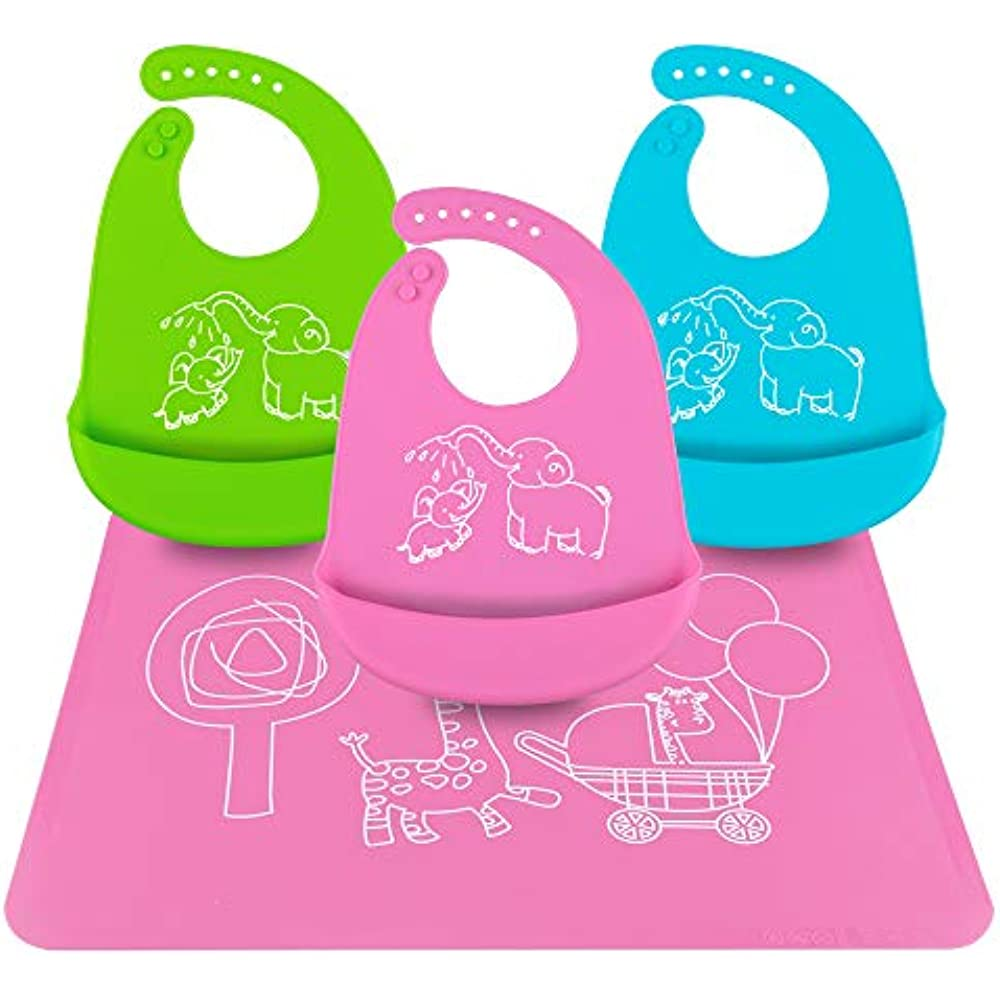 Baby Placemat With Food Catcher