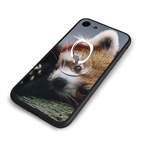 iPhone 6 Plus Case and Phone Holder Cute Red Panda Protective Case Scratch-Resistant Cover Skin -