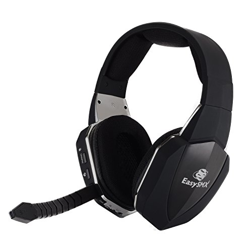 Halo 3 Xbox 360 Headset (EasySMX 2.4G Optical Wireless XBOX ONE PS4 PS3 XBOX 360 PC Laptop Tablets Chat Skype MAC Gaming Headset 2 Detachable Mic (A Microsoft Adapter is Needed When Used to XBOX))