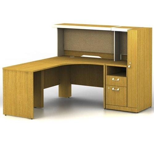 Quantum Modern Cherry Desk - 4