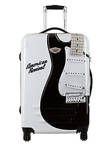 American Revival Trolley Guitare Pequeño Blanco