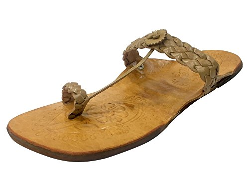 Ethnic n Step Flipflops Sandals Style Slipper Kolhapuri Jutti Casual Casual Women nXxngRHdq