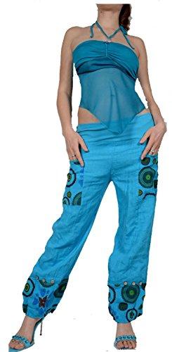 Grisodonna Style - Pantalón - harem - para mujer amarillo amarillo 42
