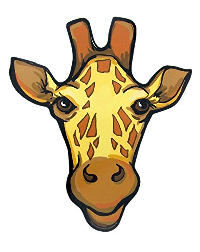 Giraffe Zoo Animal Magnet Decoration for Car, Refrigerator, or Office, 9 Inch