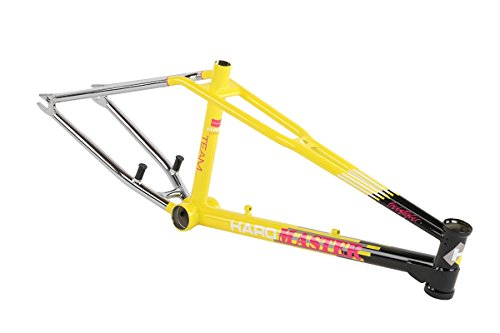 2017 Haro Lineage Team Master Black / Yellow / Chrome by Haro