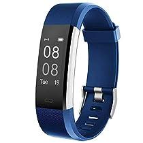 YAMAY Fitness Tracker, Orologio Fitness Activity Tracker Cardio Impermeabile IP67 Smart Watch Cardiofrequenzimetro da Polso Contapassi Pedometro Smartwatch per Uomo Donna per Android e iOS