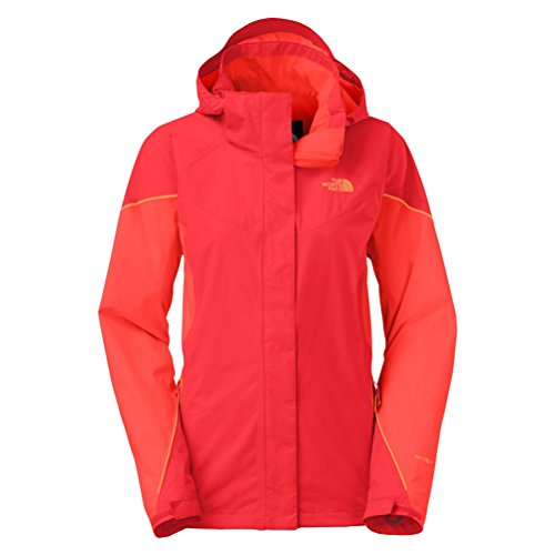 The North Face Women's Boundary Triclimate Jacket, Melon Red/Radiant Impact Orange, SM ()