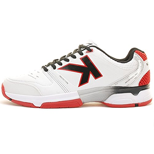 Kelme - Running - Absor Padel - Blanco: Amazon.es: Zapatos y complementos