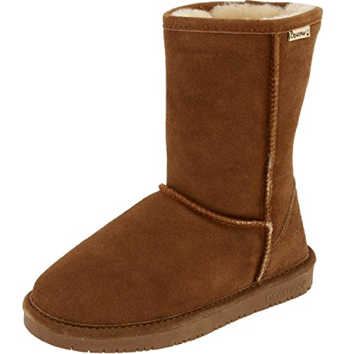 BEARPAW Women's Emma Short Boot (8.5 B(M) US, (Ladies Sheepskin Boots)