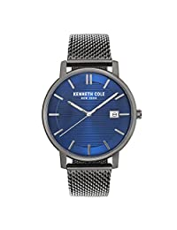 Reloj Kenneth Cole CLASSIC para Hombres 42mm, pulsera de Acero Inoxidable