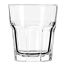 Libbey Glassware 15243 Gibraltar Cooler Glass, Duratuff, 12 oz. (Pack of 36) by Libbey Glassware