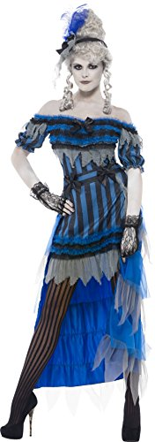 Smiffys Women's Ghostly Saloon Girl Costume