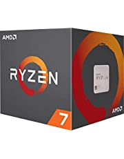 AMD Ryzen 7 3800X Unlocked Desktop Processor with Wraith Prism LED Cooler