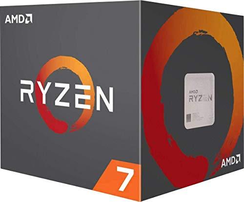 Amd Ryzen 7 3800x Procesador Con Disipador De Calor Wraith Prism 32 Mb 8 Nucleos Velocidad De 45 Ghz 105 W