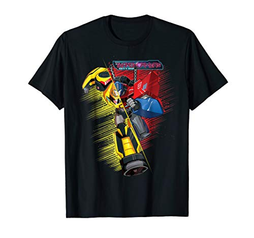- Transformers Bumble Bee And Optimus Prime Hybrid T-Shirt