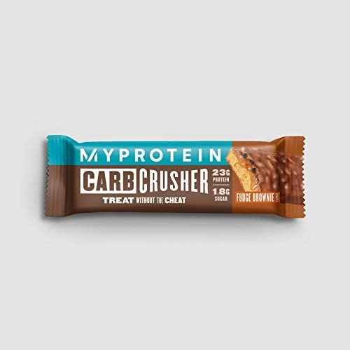 My Protein Protein Riegel Carb Crusher Fudge Brownie 12 x 60g