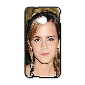 HTC One M7 Cell Phone Case Black_ha54 emma watson dress girl face Ikdpm