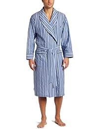 Nautica Men's Sultan Stripe Woven Robe
