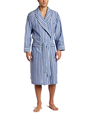 Men's Sultan Stripe Woven Robe
