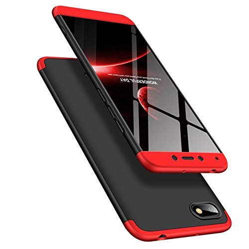 TecKraft RedMi6A3PRTRED_TK Full Body Protection Hard Back Cover Case for Redmi 6A (Black-Red) (B07N1R8HFD) Amazon Price History, Amazon Price Tracker