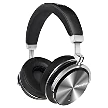 Active Noise Cancelling Headphones Wireless Bluetooth headphone Bluedio T4S (Turbine) Over-ear Swiveling Headset with Mic(Black) holiday gifts
