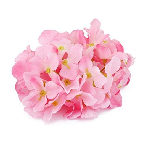 Pink Hydrangea Hat - Tinksky Hydrangea Flowers for Home Wedding Decoration Pink 20pcs of Pack