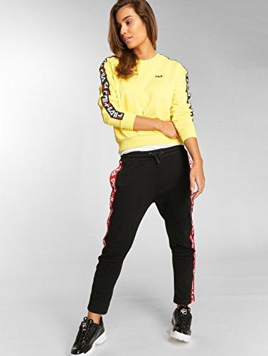 Fila Camille Nero Urban Pantaloni ginnico Pantalone Line Donna aaFw8