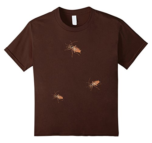 Kids HALLOWEEN TRICK CRAWLING ROACHES COCKROACHES COSTUME T-SHIRT 12 (Cockroach Costume)