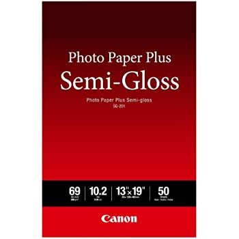 "Canon Photo Paper Plus Semi-Gloss 13"" x 19"" (50 Sheets) (SG-201 13X19)"