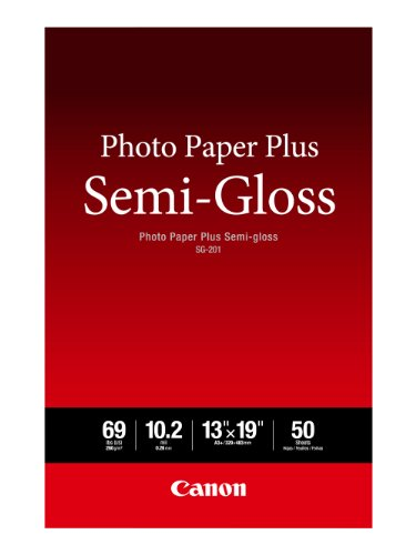 (Canon SG-201 13X19(50)  Photo Paper Plus Semi-Gloss 13