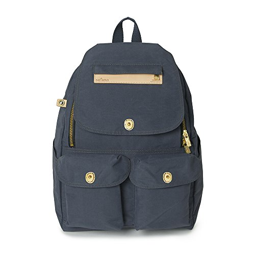 Satana Classic Multi-Functional Backpack (Navy Blue) by Satana