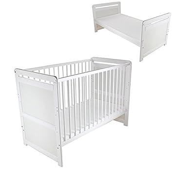 2in1 Babybett Juniorbett umbaubar 120x60cm Kinderbett Gitterbett ...