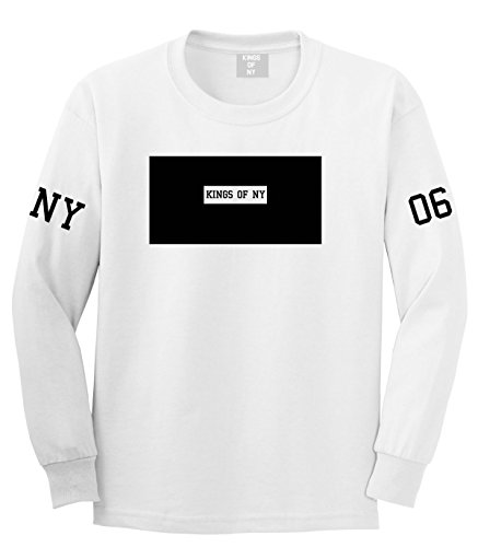 Kings Of NY New York Logo 2006 Style Trill Long Sleeve T-Shirt Large (New York Style Graphic Tee)