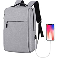Laptop Backpack, Travel Computer Bag,Business Anti Theft Backpack with USB Charging Port,Water Resistant College School…