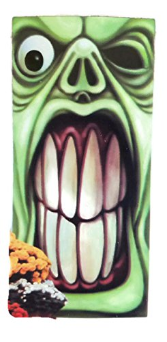 Halloween Green Monster Door (Calabazas De Papel Halloween)