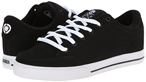 C1RCA Men's AL50 Adrian Lopez Lightweight Insole Skate Shoe Athletic Shoe, Black/White, 11.0 Medium US