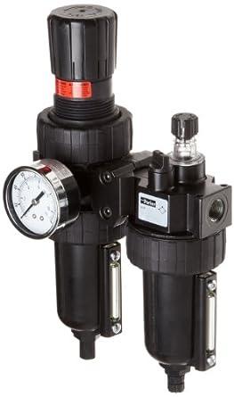 Parker 06h28 a18 a4bc dos unidades Combo aire comprimido filtro/regulador 1/2)