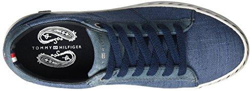 Ginnastica Blu da Basse Scarpe 7c1 E1285liza Tommy Hilfiger 013 Donna Jeans I6qf8XXT