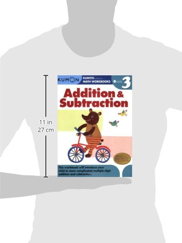 Grade 3 Addition & Subtraction (Kumon Math Workbooks): Kumon ...