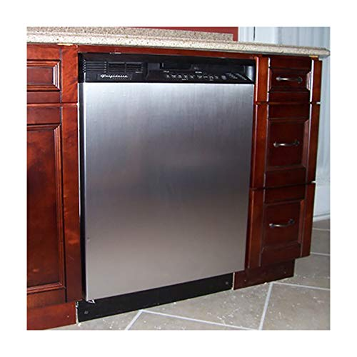 Appliance Art Instant Stainless Large Magnet Dishwasher Cover | Measures 23.5 wide x 26 tall | Easily Trimmable