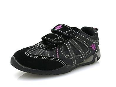 Lico Mädchensneaker Schuhe für Mädchen Leder Sneaker schwarz grau 1788 qQD9iPB