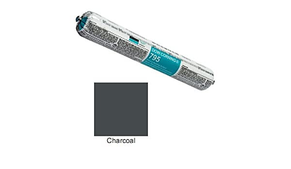 Charcoal Dow Corning 795 Silicone Building Sealant - Sausage