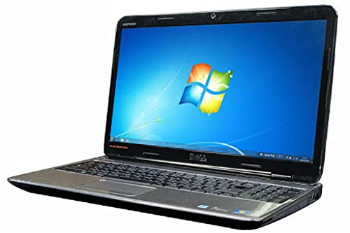 中古 DELL ノートパソコン INSPIRON N5010 Windows7 64bit搭載 webカメラ搭載 HDMI端子搭載 テンキー付 Core i5搭載 メモリー4GB搭載 HDD160GB搭載 W-LAN搭載 DVDマルチ搭載 B07P9YLLYP
