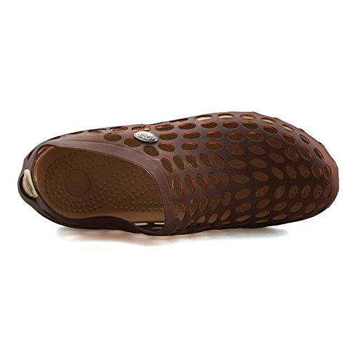 Aleader Pull-on - Zapatillas de pesca de Material Sintético para hombre marrón