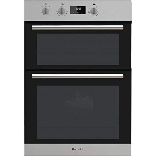 HOTPOINT DD2540IX Electric Built In Double Oven - Stainless Steel