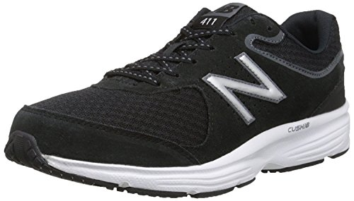 New Balance Mens MW411v2 Walking Shoe, Azul/Gris, 41.5 EU/7.5 UK