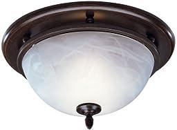Broan 754RB Decorative Ventilation Fan and Light,70 CFM 3.5 Sones, Oil Rubbed Bronze
